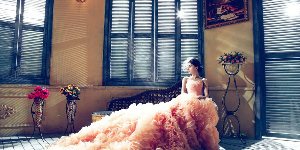 Beautiful woman in beautiful rich house in beautiful dress money luxury wealth| The Sublime Woman