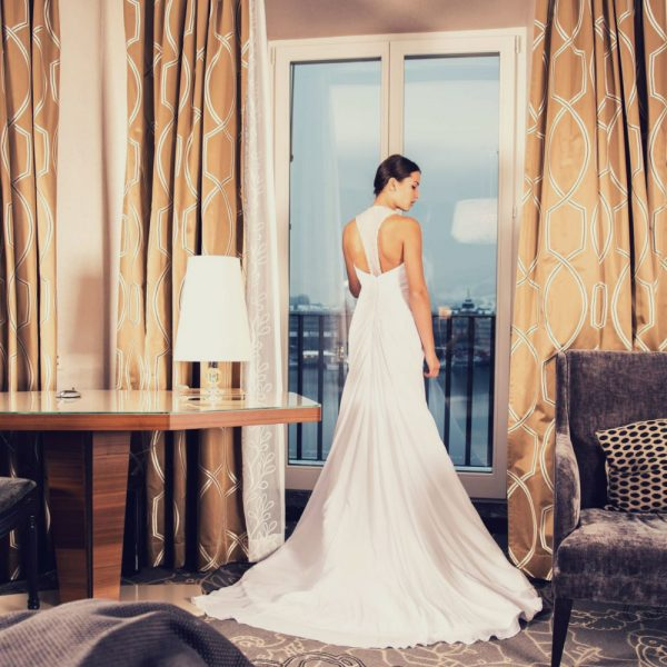 Woman in long beautiful dress in a beautiful room skirt feminine | The Sublime Woman