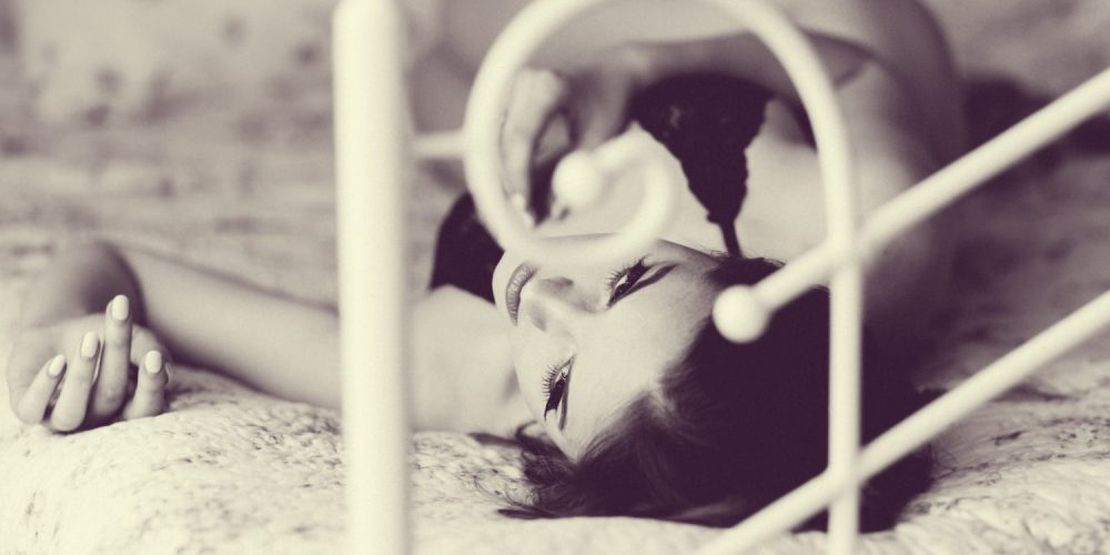 Sleep of a Queen beautiful woman in bed | The Sublime Woman