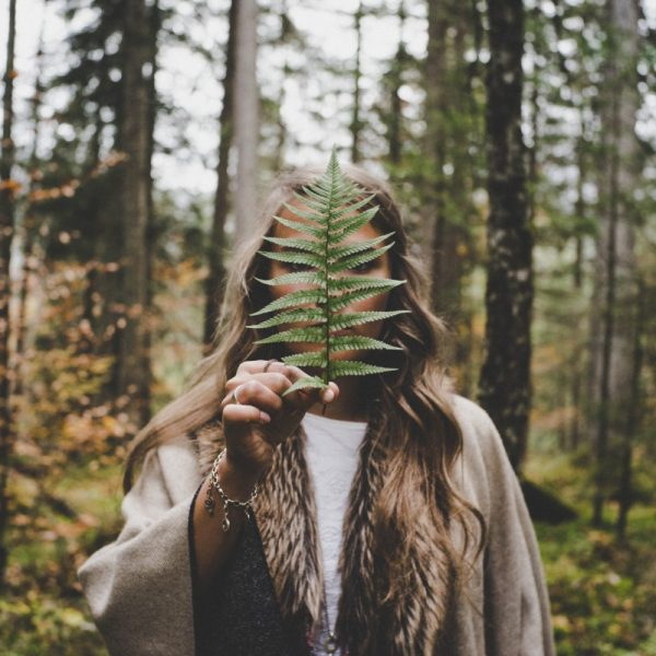 Foods To Increase Femininity woman in nature | The Sublime Woman