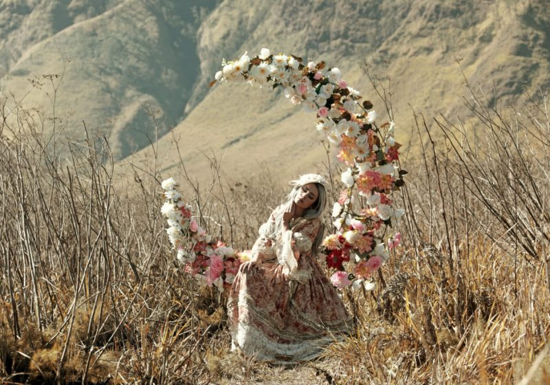Being a Woman feminine qualities beautiful woman with flowers | The Sublime Woman