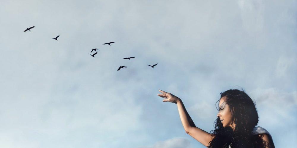 Power of Feminity woman's wisdom female empowerment beautiful woman long hair | The Sublime Woman