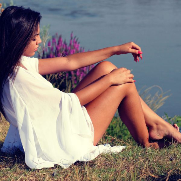 Sensuality Divine And Sacred beautiful feminine woman by the water | The Sublime Woman