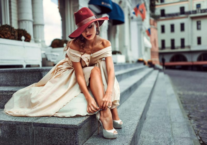 Reasons of Low Feminine Energy beautiful woman in dress and heels   The Sublime Woman