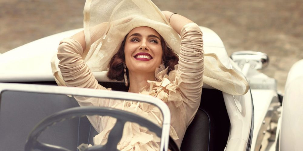 Why You Should Never Save Money On Yourself beautiful woman in luxury car and with a hat | The Sublime Woman
