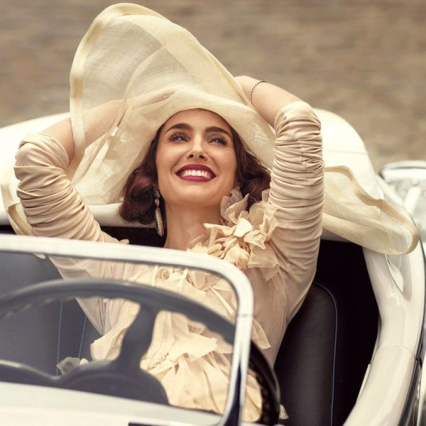 Why You Should Never Save Money On Yourself beautiful woman in luxury car and with a hat   The Sublime Woman