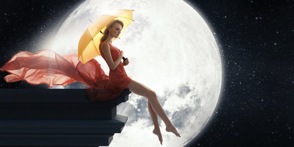Lunar Path Of a Woman, Moon Path For a Woman, Moon Energy and Woman, The Sublime Woman