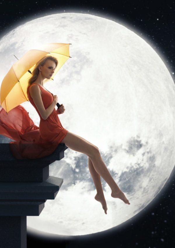 Lunar Path Of a Woman